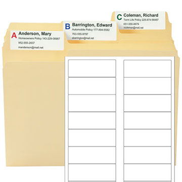 MO Starter Kit Blank Label Template