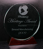 SMEAD HONORED WITH HERITAGE AWARD