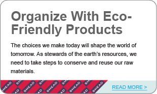 Organize With Eco-friendly Products