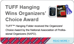 TUFF Hanging  Wins Organizers' Choice Award