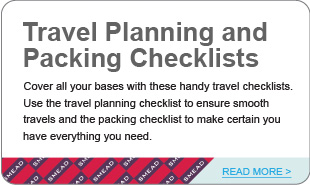 Travel Planning and Packing Checklists