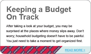 Keeping a Budget On Track