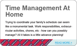 Time Management At Home