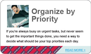 Organize by Priority