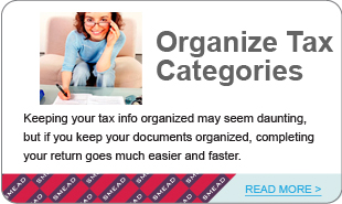 Organize Your Tax Categories