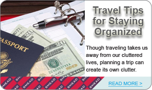 Travel Tips for Staying Organized