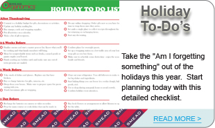 Holiday To-Do's