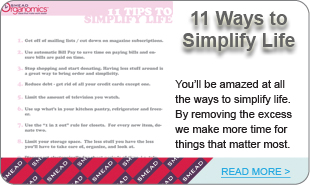 11 Ways to Simplify Life