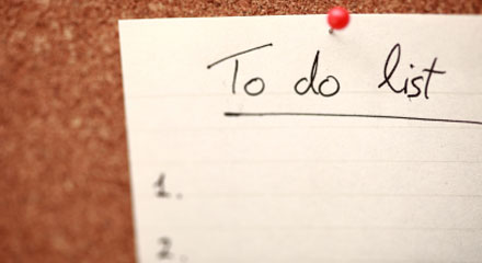 Creating an Organized To Do List