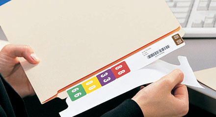 No-Hassle File Labeling with Smartstrip® Labeling System