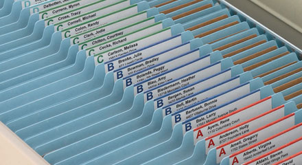 Create a Filing Masterpiece with Smead Viewables® Labeling System