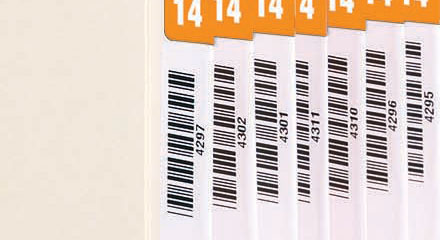 Using Bar Codes To Track Records