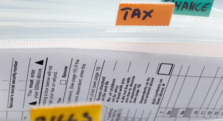 The Secret for Getting Ready for Tax Time