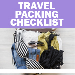 Checklist: Travel Packing
