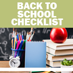 Checklist: Back to School