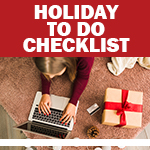 Checklist: Holiday To Do List