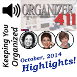 Podcast 063: Organizer411 Hangout Highlights with Geralin, Leslie & Linda