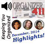 Podcast 071: Organizer411 Hangout Highlights with Deb, Debbie & Clare