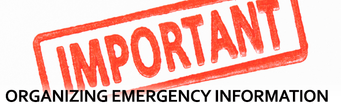 Organizing Emergency Information