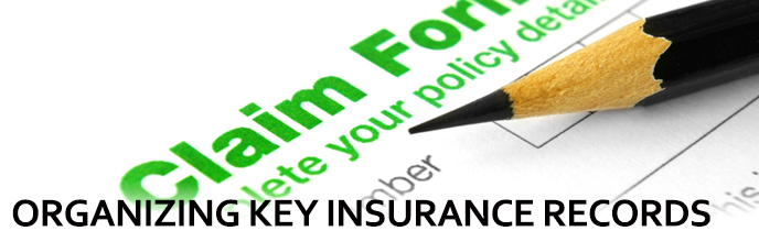 Organizing Key Insurance records