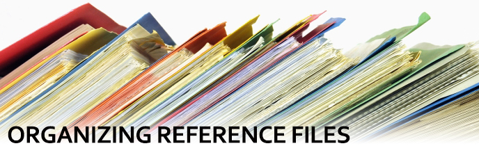 Organizing Reference Files