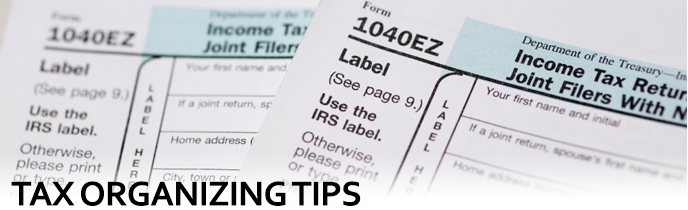Tax Organizing Tips
