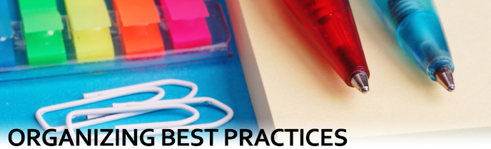 Organizing Best Practices