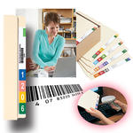 Smead ColorBar® Network Composer 02354, Additional Seat, End Tab and Top Tab Labels