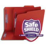 Smead Pressboard Fastener Folder with SafeSHIELD® Fasteners 14936, 2 Fasteners, 1/3-Cut Tab, 2
