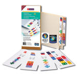 Smead Smartstrip® Labeling System 66003, Starter Kit, End Tab Labels, Laser Printers