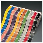 Smead CC Color-Coded Label 67210, 10 Colors, Label Roll, Assorted Colors