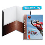 SmeadCampus.org Raditude™ Collection Two-Pocket File Folder 87903, Up to 100 Sheets, Letter, To the House (Football)