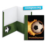 SmeadCampus.org Raditude™ Collection Two-Pocket File Folder 87904, Up to 100 Sheets, Letter, Wormburner (Soccer)