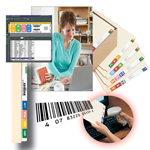 Smead ColorBar® Express 02365, Software for Printing End Tab and Top Tab Labels