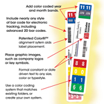 ColorBar®  Laser Labels