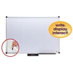Justick By Smead Whiteboards with Clear Overlay