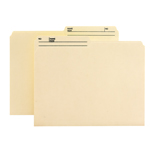 Smead Reversible File Folder 10138, 1/2-Cut Printed Tab, Letter, Manila