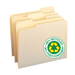 100% Recycled File Folders
