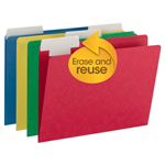 FlexiFolder™ Heavyweight Folder with Movable Tab