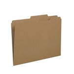 Smead File Folder 10776, Reinforced 2/5-Cut Tab Right of Center, Guide Height, Letter, Kraft