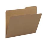 Smead File Folder 10786, Reinforced 2/5-Cut Tab Right Position, Guide Height, Letter, Kraft