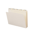 Smead Indexed File Folder Set 11765, Monthly (Jan.-Dec.) Folders, Reinforced 1/5-Cut Tab, Letter, Manila