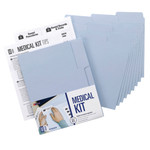 Smead MO® File Folder Medical Kit 11800, Letter, Lake Blue