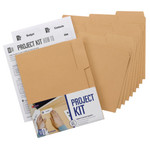 Smead MO® File Folder Project Kit 11802, Letter, Camel