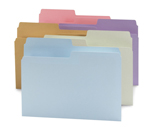 Smead SuperTab® File Folder 11907, Oversized 1/2-Cut Tab, Letter, Assorted Colors
