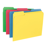 Smead File Folder 11938, 1/3-Cut Tab, Letter, Assorted Colors