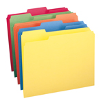 Smead File Folder 11943, 1/3-Cut Tab, Letter, Assorted Colors