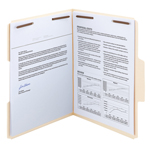 SuperTab® Fastener Folders with Reinforced Tab
