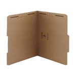 Smead Fastener File Folder 14882, 2 Fasteners, 2/5-Cut Tab Right of Center Position, Letter, Kraft