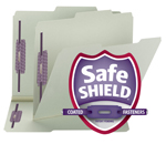 Pressboard Fastener Folders with SafeSHIELD® Fasteners